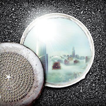 Manhole City by TortillaChief