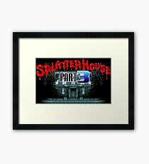 Splatterhouse 3 (Genesis Title Screen) Framed Print