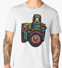Black Camera Men's Premium T-Shirt