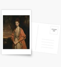 Anne Seymour Damer by Joshua Reynolds Postcards