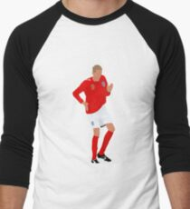 Peter Crouch Robot Dance Vector Men's Baseball ¾ T-Shirt