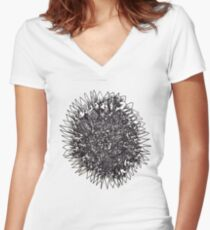 Sun of All Things Women's Fitted V-Neck T-Shirt