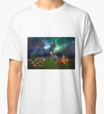 Gothic Zombie - Halloween series 09 Classic T-Shirt