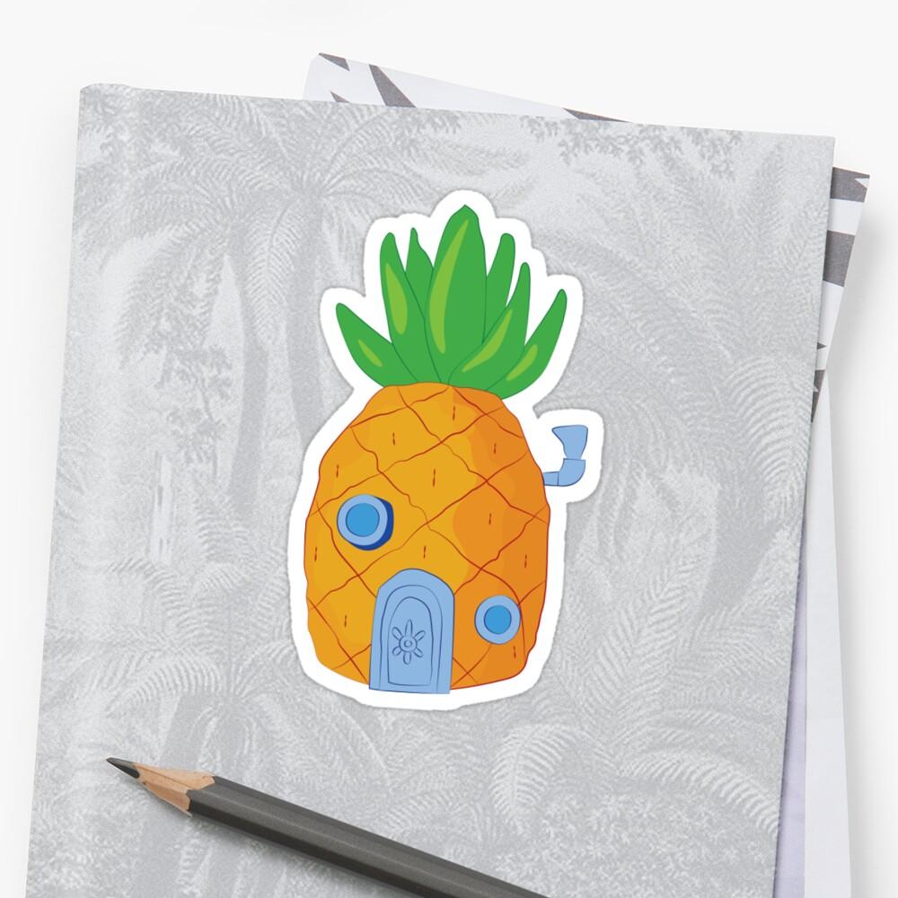 Spongebob Ananas Sticker