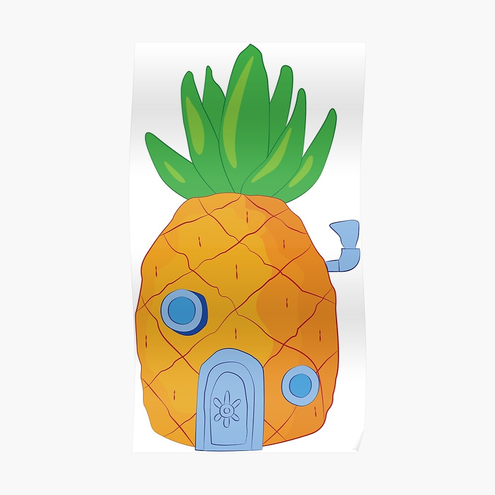 Spongebob Ananas Poster