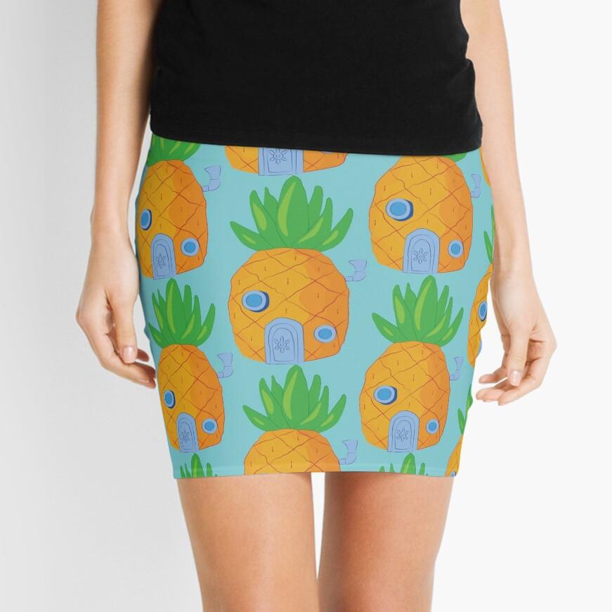 Spongebob Ananas Minirock