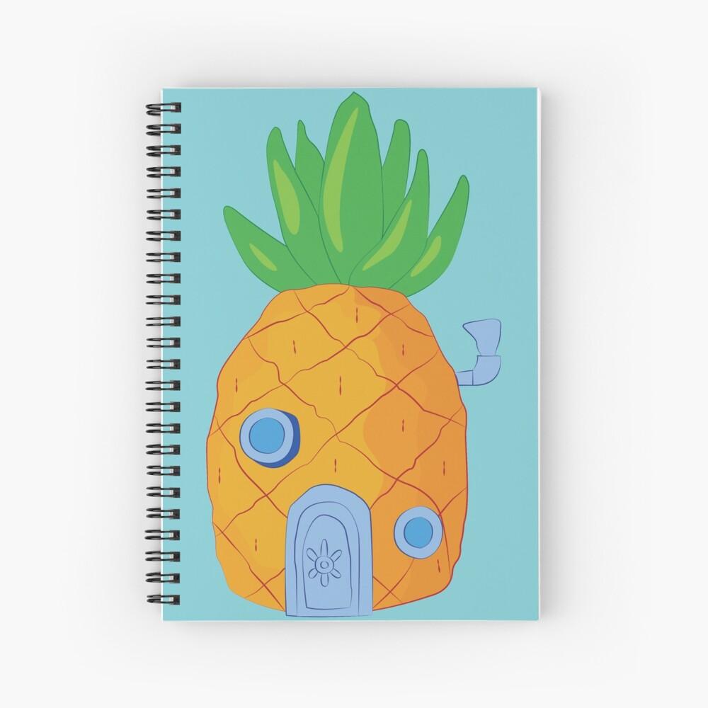 Spongebob Ananas Spiralblock