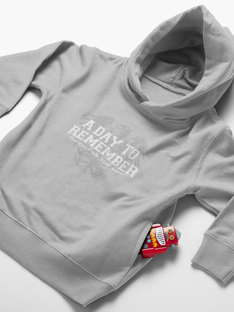 Alternate view of A Day To Remember - For Those Who Have Heart Toddler Pullover Hoodie
