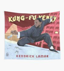 Kung Fu Kenny Wall Tapestry