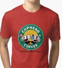 CupHead Mug Tri-blend T-Shirt