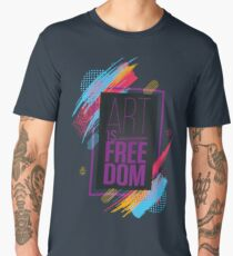 Art Is Freedom Limited Edition Men's Premium T-Shirt