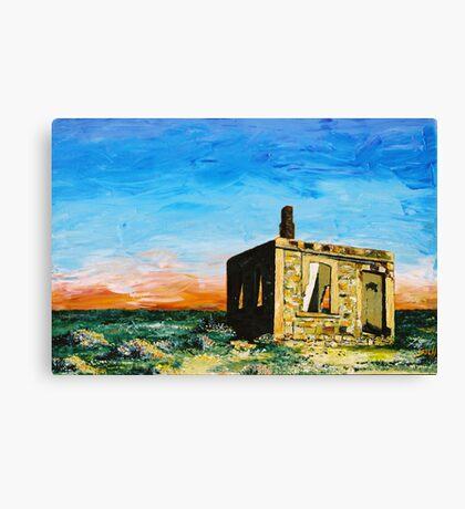 Silverton Ruin Canvas Print