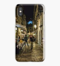 Dubrovnic at night iPhone Case/Skin