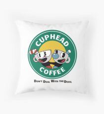 CupHead Mug Throw Pillow