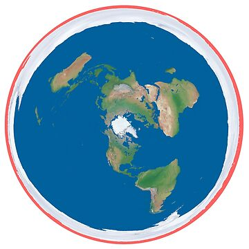 Flat Earth Map by flatearth1111