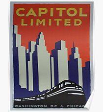 Vintage poster - Capitol Limited Poster