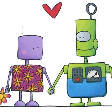 Lovers Robots by laureH