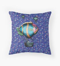Upon a Dream We Floated Throw Pillow