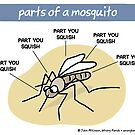 Parts of a mosquito by WrongHands