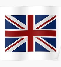 Great Britain flag Poster