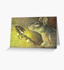 Lamplighter Greeting Card