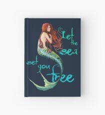 Meerjungfrau: Lass dich vom Meer befreien Notizbuch
