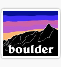 Boulder Sticker
