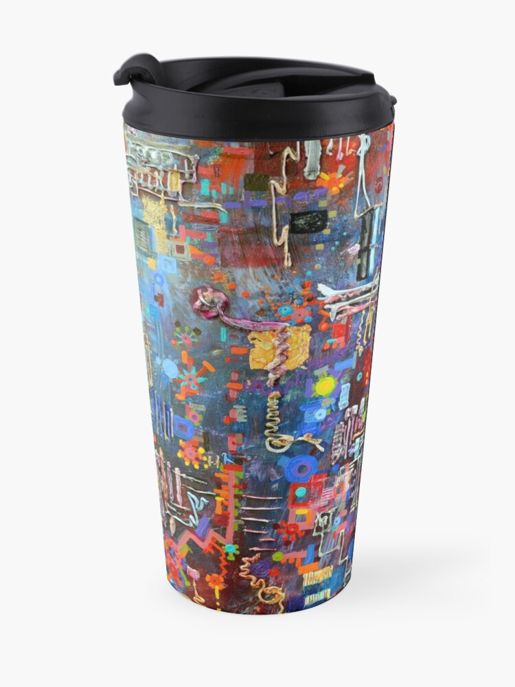 Alternate view of On a Chip Travel Mug