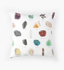 Geode Photo Pattern Throw Pillow