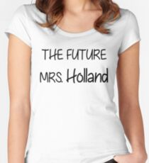 the future mrs. holland Women's Fitted Scoop T-Shirt