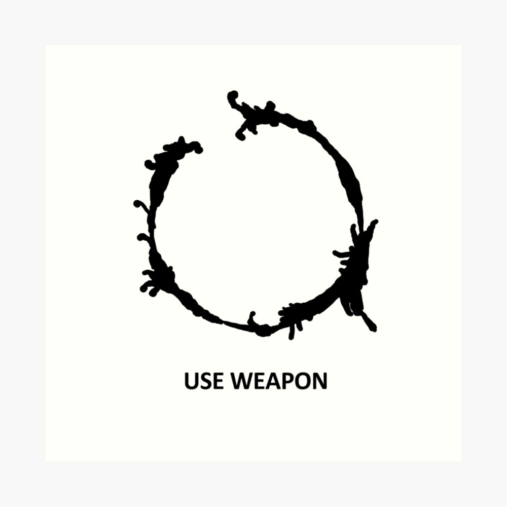 Use Weapon Art Print