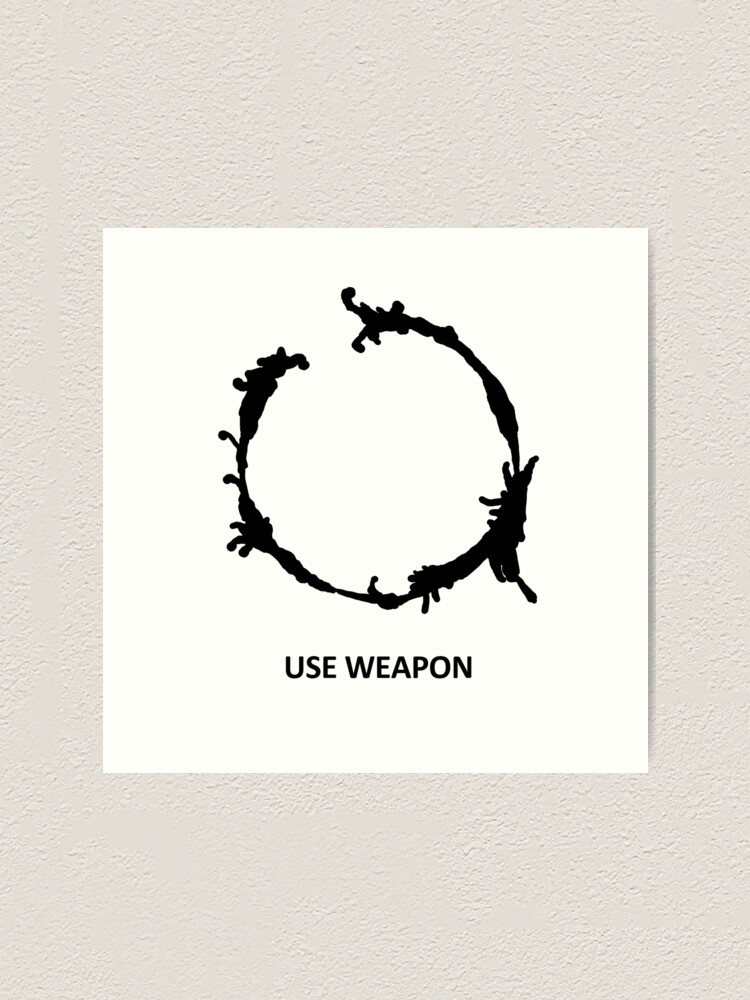 Alternate view of Use Weapon Art Print