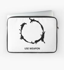 Use Weapon Laptop Sleeve