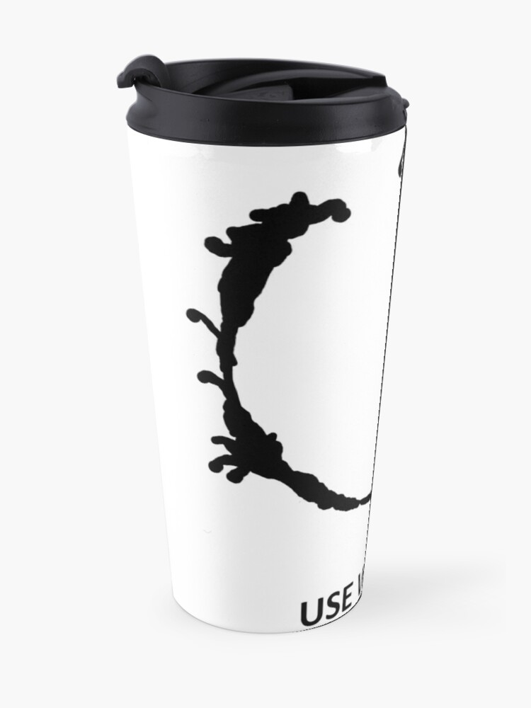 Alternate view of Use Weapon Travel Mug