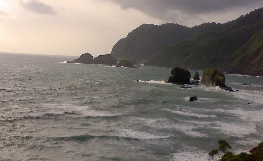 sea from top by burukutuk