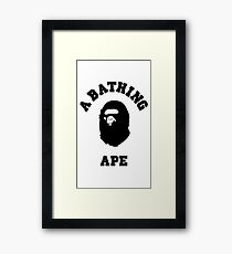 A BATHING APE BAPE STYLE case and more Framed Print