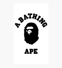 A BATHING APE BAPE STYLE case and more Photographic Print