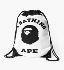A BATHING APE BAPE STYLE case and more Drawstring Bag