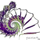 Feather Snail by gheather21