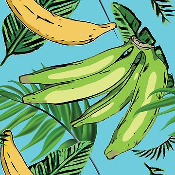 Plantain Paradise Pattern - For true plantain fans by ShikitaMakes