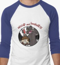 Hiccup and Toothless Men's Baseball ¾ T-Shirt