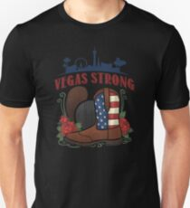 Vegas Strong American Country Music Love T-Shirt