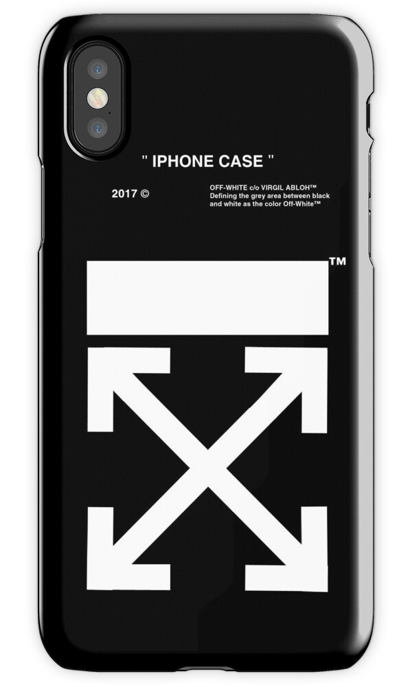 """""""OFF WHITE IPHONE CASE (High resolution)"""" iPhone Cases ..."""