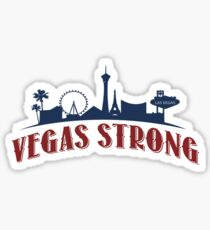 Vegas Strong - American Pride  Sticker