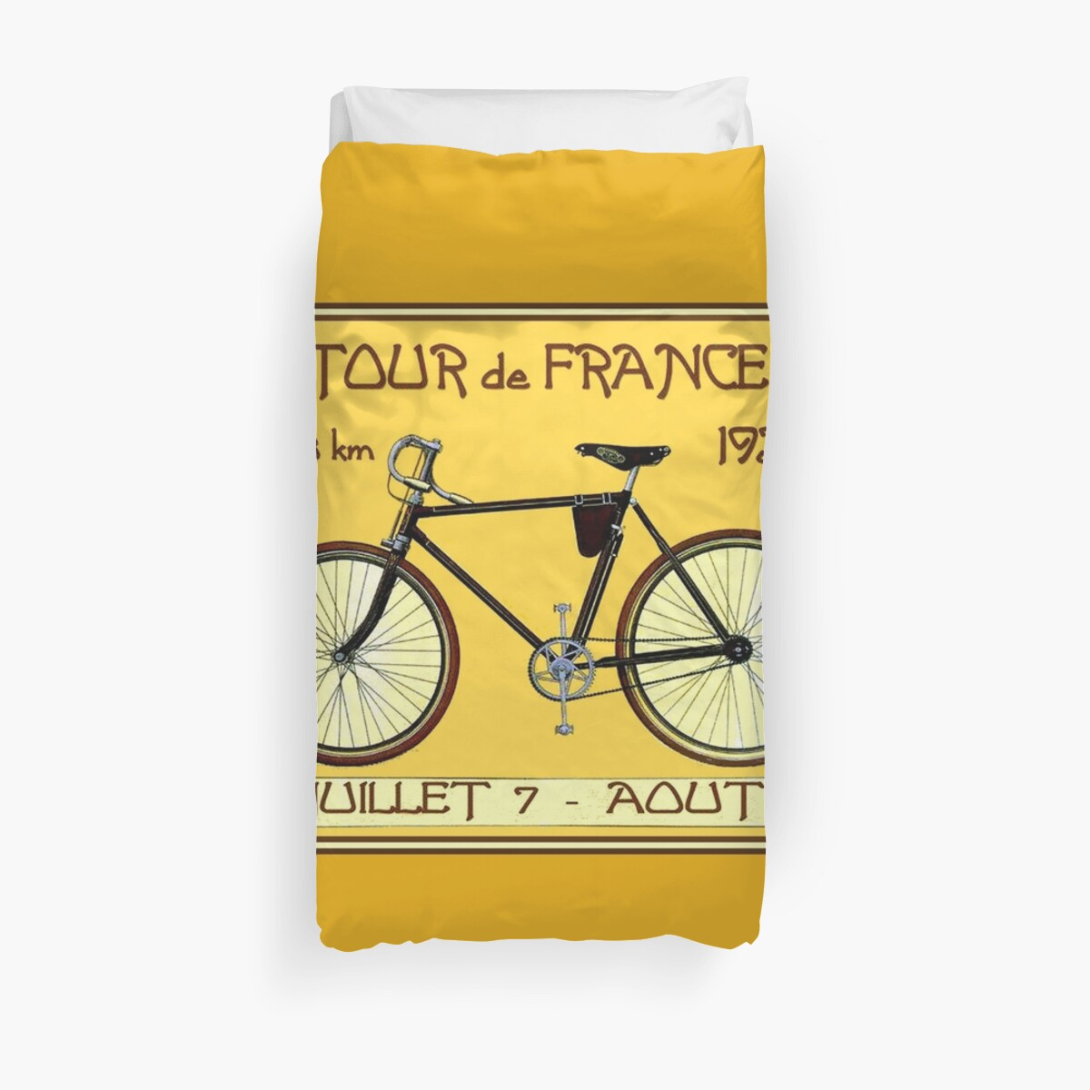 TOUR DE FRANCE ; Vintage Bicycle Race Print\