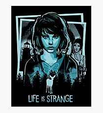 Life is strange - Max collage  Photographic Print