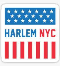 Harlem - Stars and Stripes Sticker
