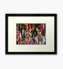 Patriots Framed Print