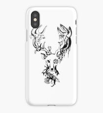 Deer sticker- Tattoo Idea iPhone Case/Skin