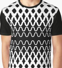 Waves into Particles Graphic T-Shirt